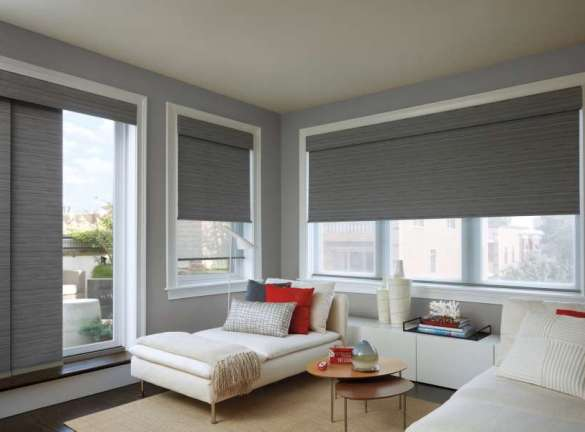 Designer Roller Shades_Ocracoke_Living Room
